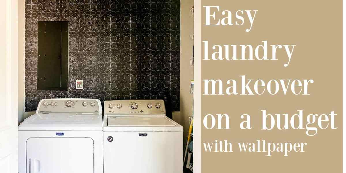 Small Laundry Room Wallpaper Ideas