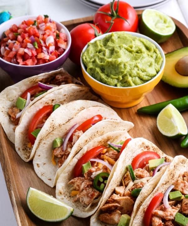 ninja foodi chicken tacos