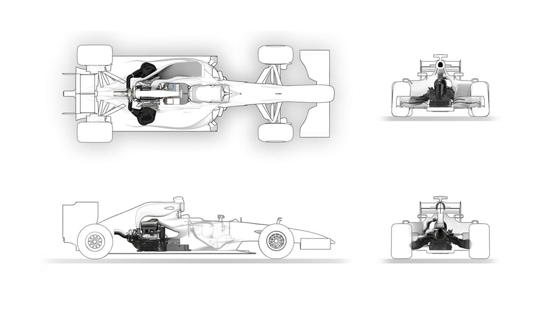 Sous Le Capot Moteur F1 Power Unit Renault Un An Apres