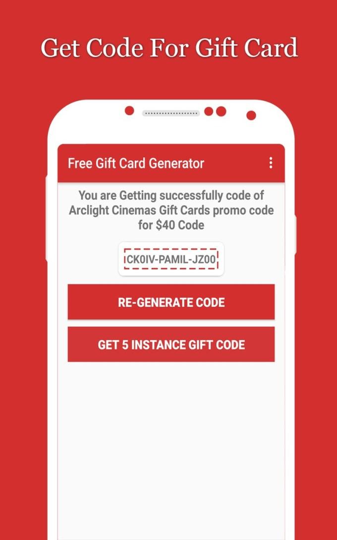 Free Gift Card Generator 102 Png