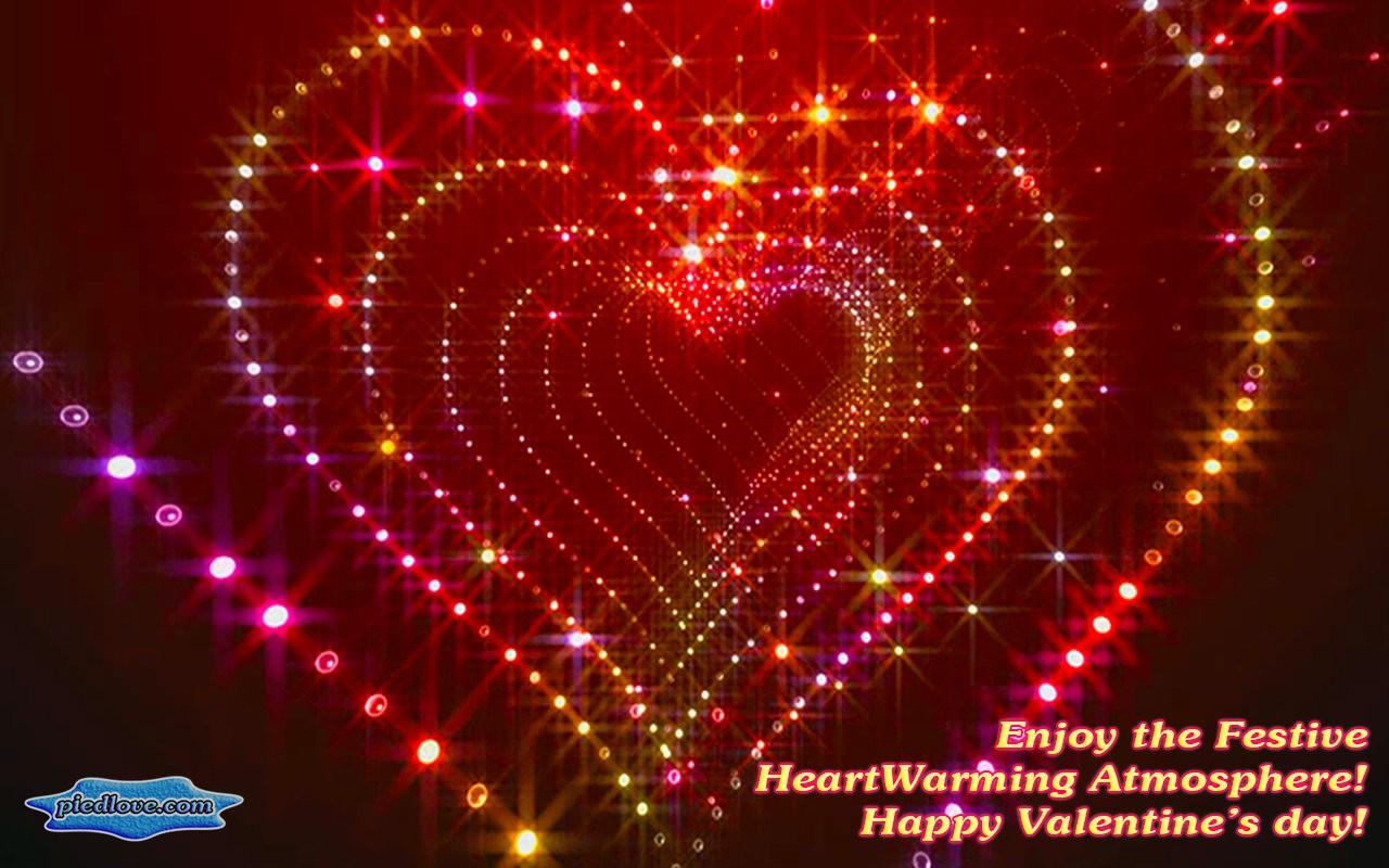 Tunnel Glitter Spark Heart 3D
