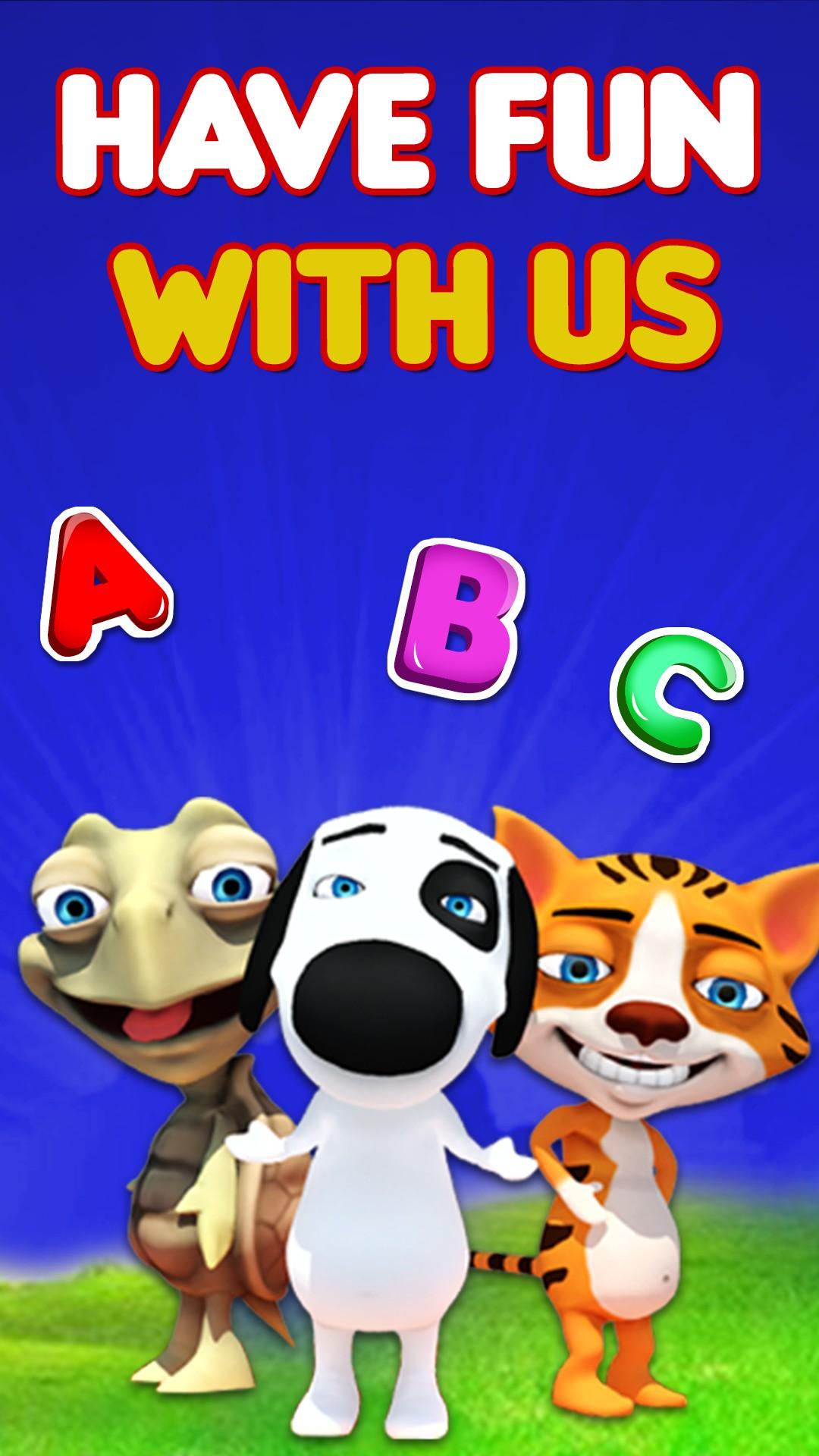 Preschool Learning 3d Abc For Kids