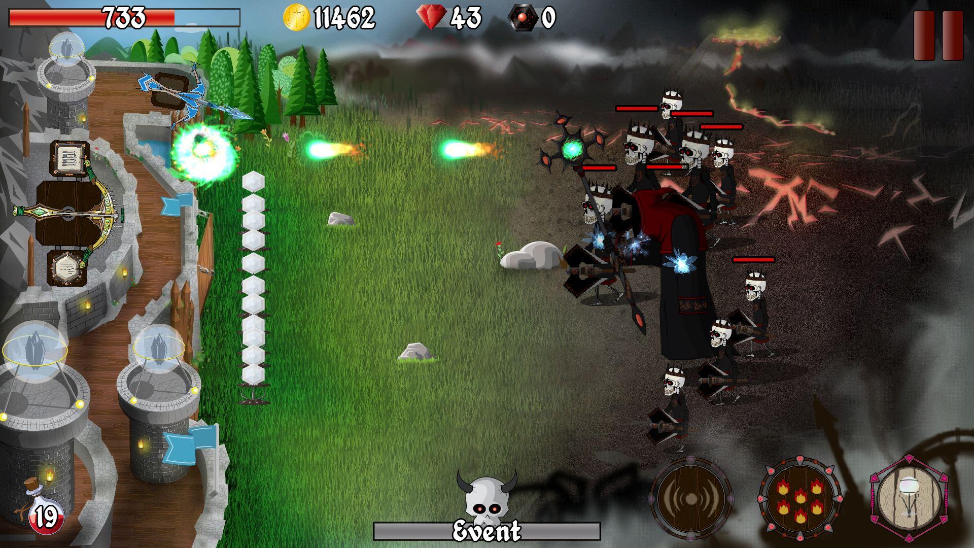 Grim Defender Castle Amp Tower Defense