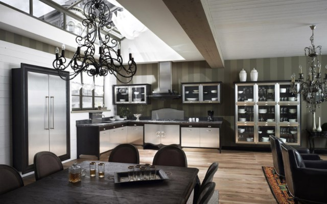 Modern Classic Kitchen Interior