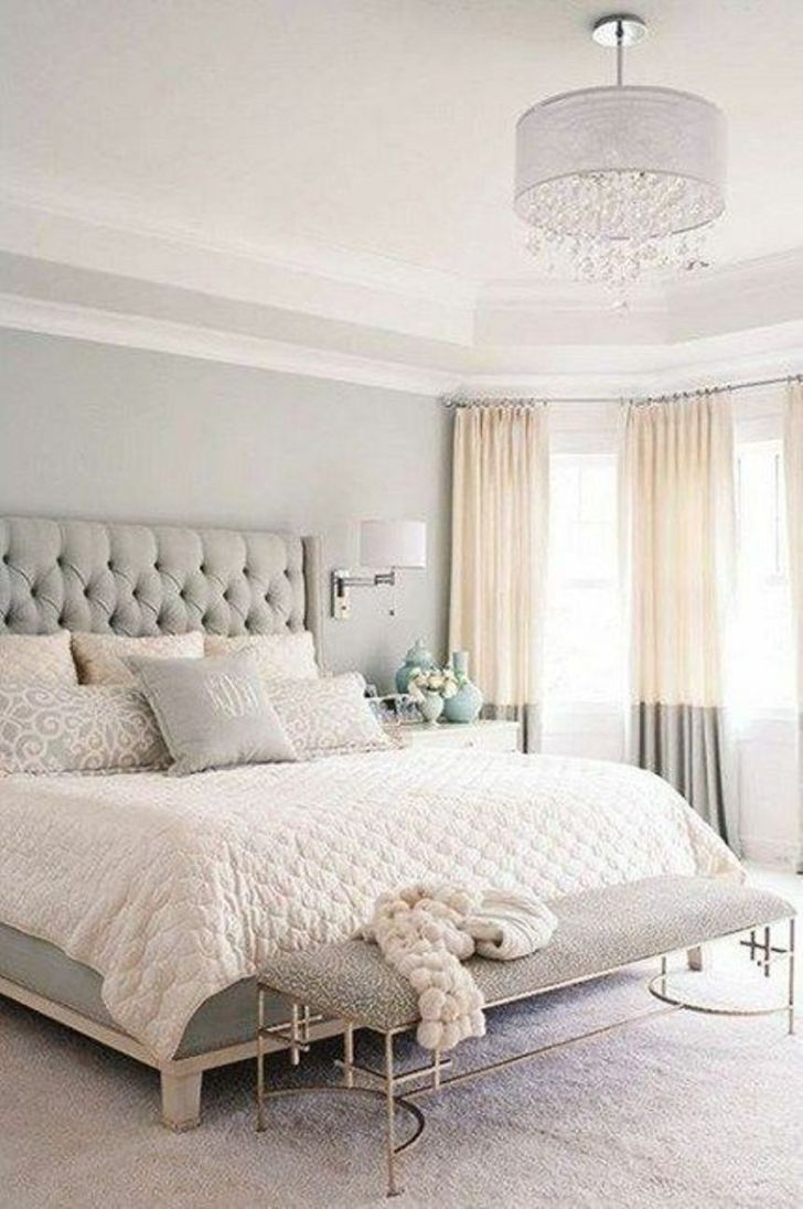 Nice Size Elegant Bedrooms With Neutral Colors
