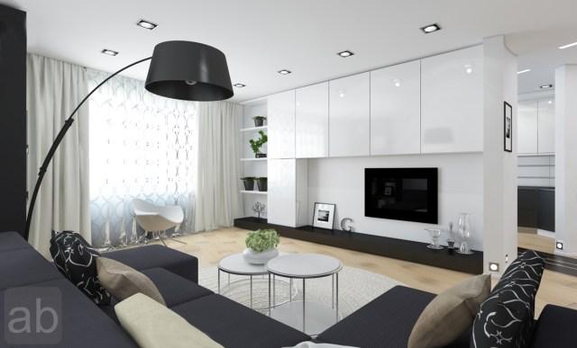 modern living room design white color