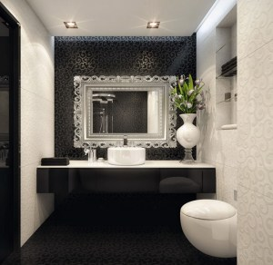 Black And White Bathroom Ideas WyWF