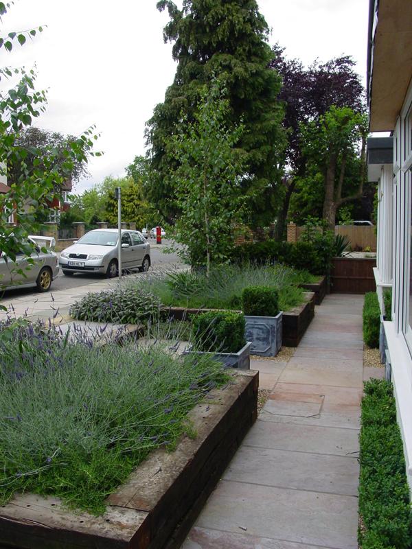 Gardens Contemporary Front Garden Design Ideas - Design On Vine