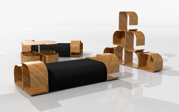 Charming Modular Furniture Design PlLa