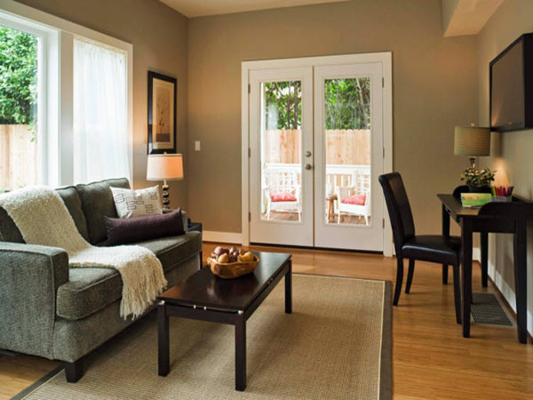 most popular living room paint colors - design on vine