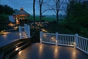 Outdoor Deck Lighting Ideas Tije