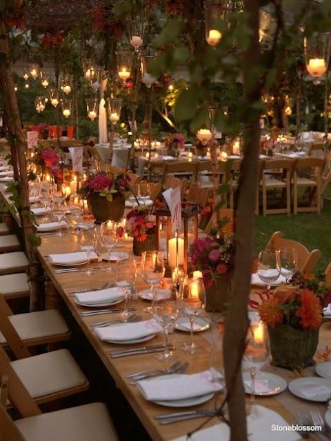 Outdoor Fall Wedding Ideas - Design On Vine