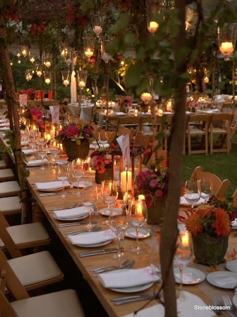 Outdoor Fall Wedding Ideas