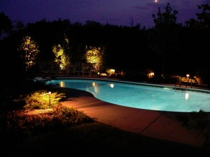 Outdoor Pool Lighting Ideas KFIY