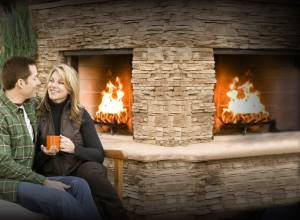 Outdoor Stone Fireplace Ideas PXwZ