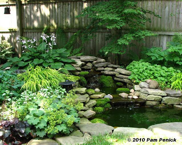 Small Shade Garden Design .