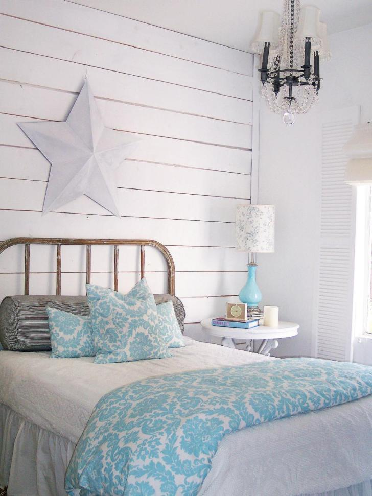 Interesting Detail For Bedroom Decorating Ideas Shabby Chic