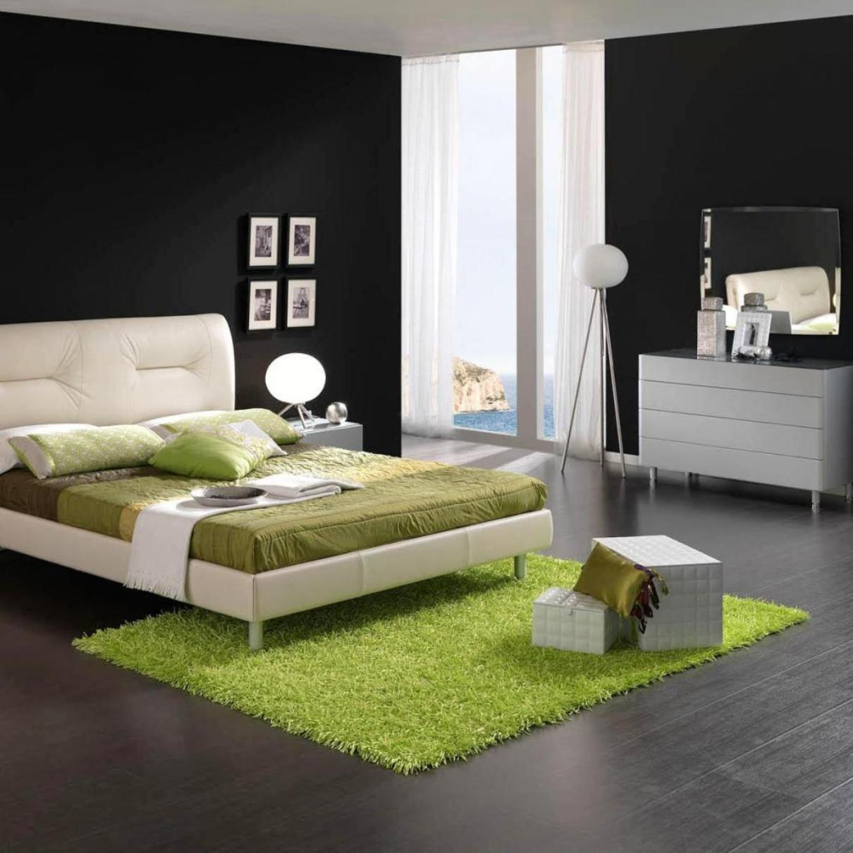 Green touch in other element of the bedroom decoration