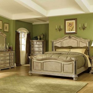 bedroom decorating ideas using green concept