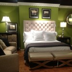 Bedroom Decor Ideas Using Green Items