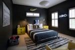 Elegant black and white bedroom ideas