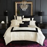 Black And White For Modern Bedroom Design Idea
