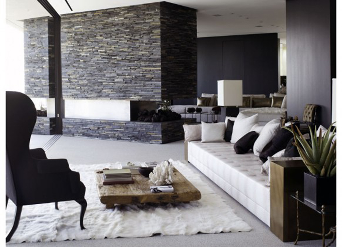 Furniture placement ideas for your contemporary living room