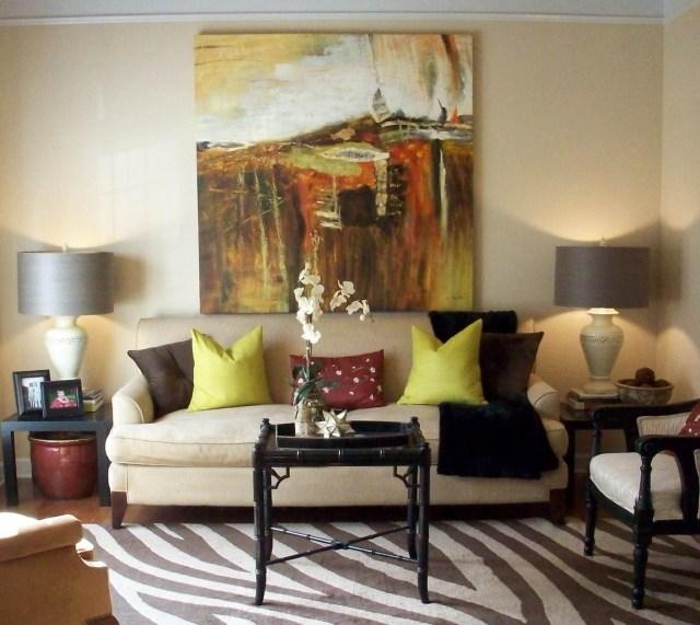 formal decoration for living room