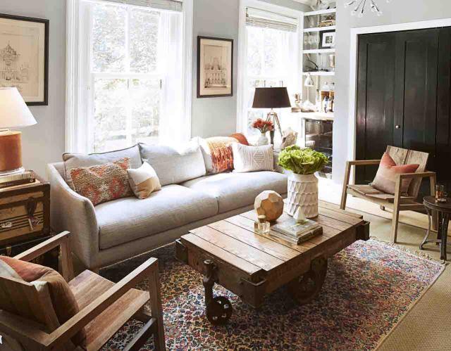 Furnish a living room