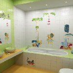 Colorful Kids Bathroom