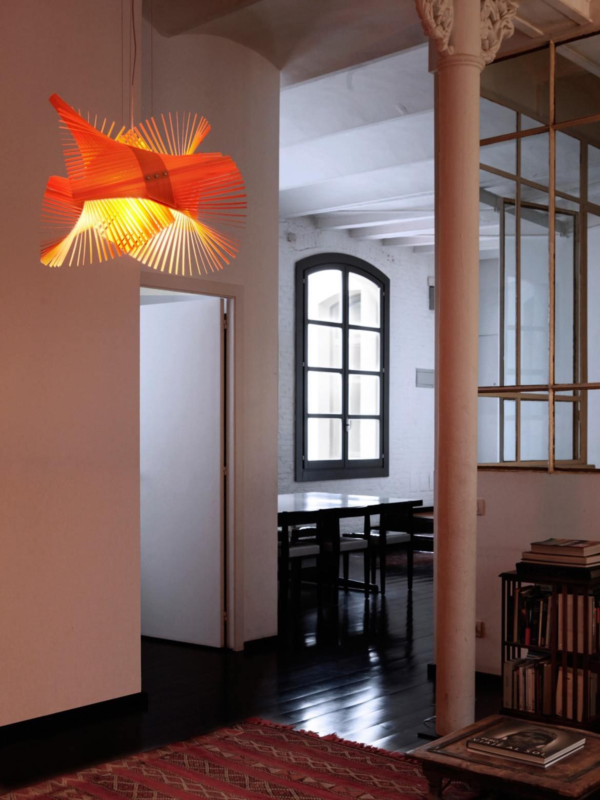 DesignOrt Blog: Faszination Farbe: Holzfurnier von LZF Lamps Minimikado