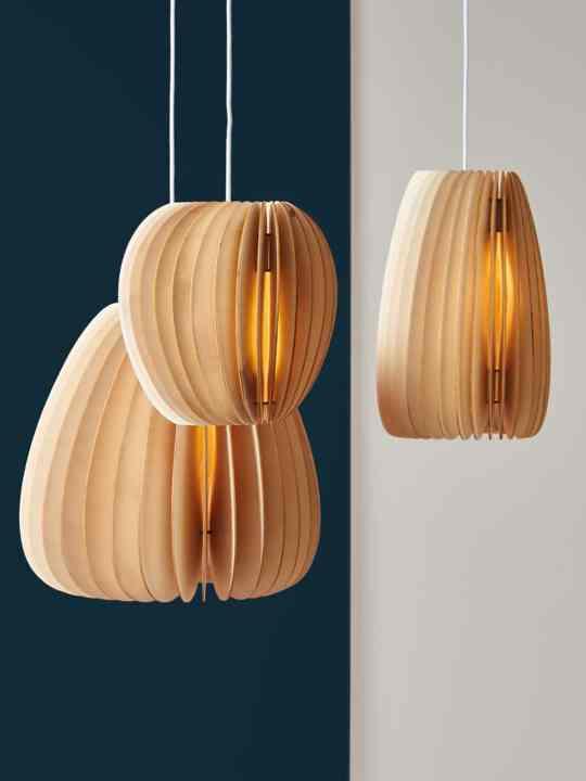 Holzleuchten aus nachhaltiger Produktion Made in Germany