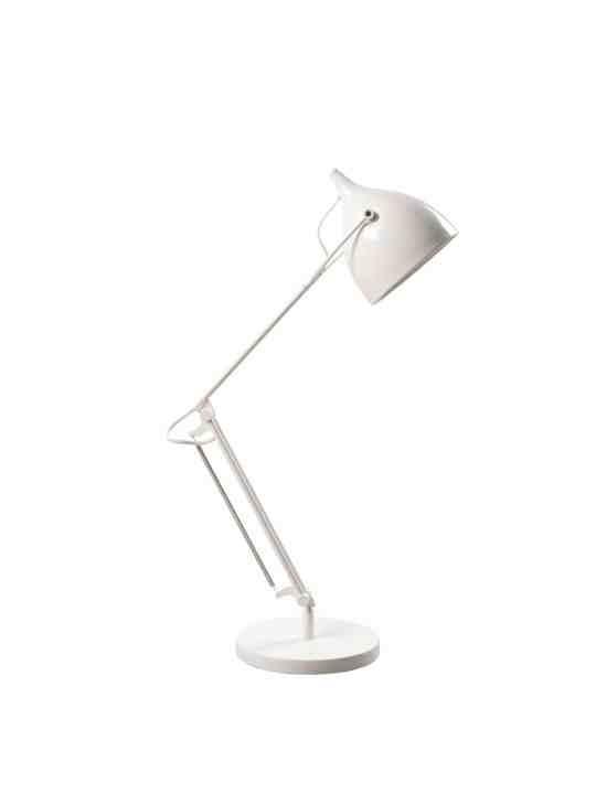 Tischlampe Reader in Weiss Zuiver