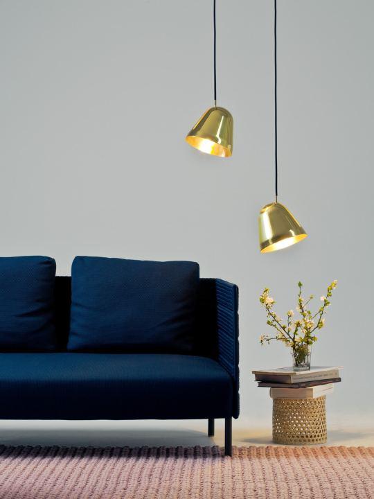 Designer Hängeleuchten Nyta Tilt Brass