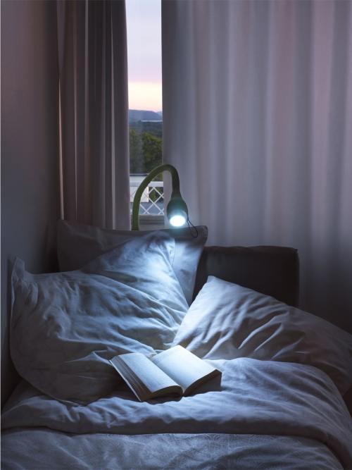 seid Designleuchte im Schlafzimmer