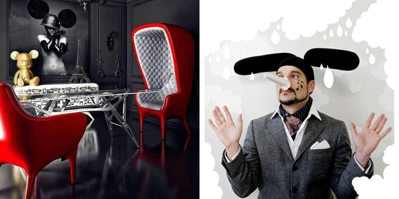 Jaime-Haydn und Designermöbel