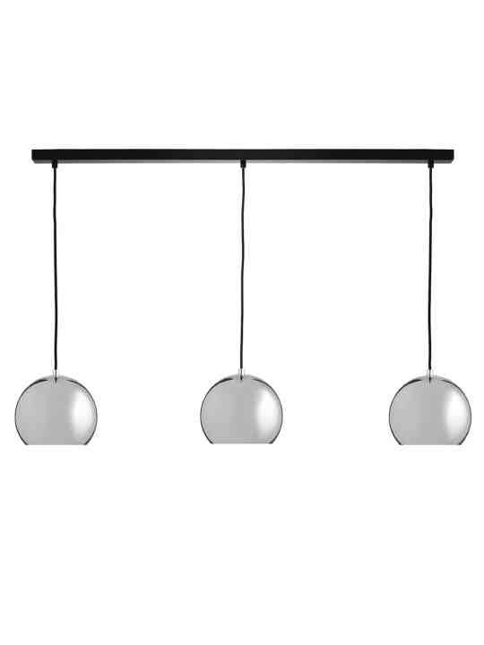 Leuchte Ball Track Chandelier chrome