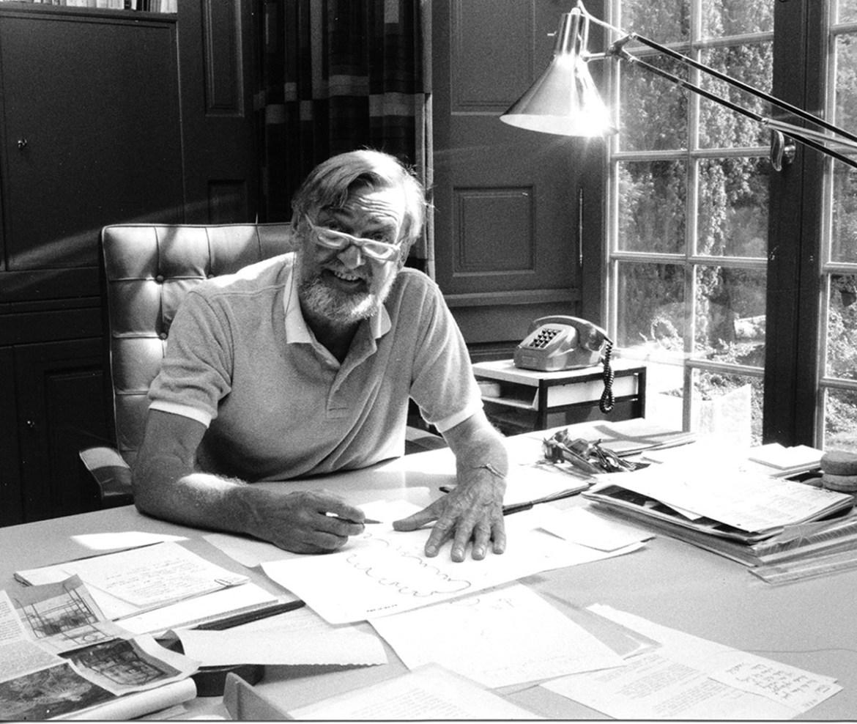 Portrait des Designers Verner Panton