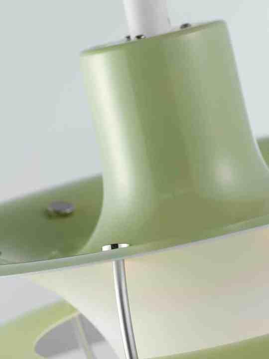 Detail der PH 50 in wasabi-grün