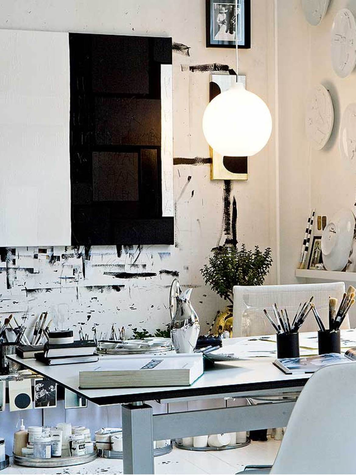 DesignOrt Blog: Designerleuchten aus Opalglas Wohlert #lampen #blog