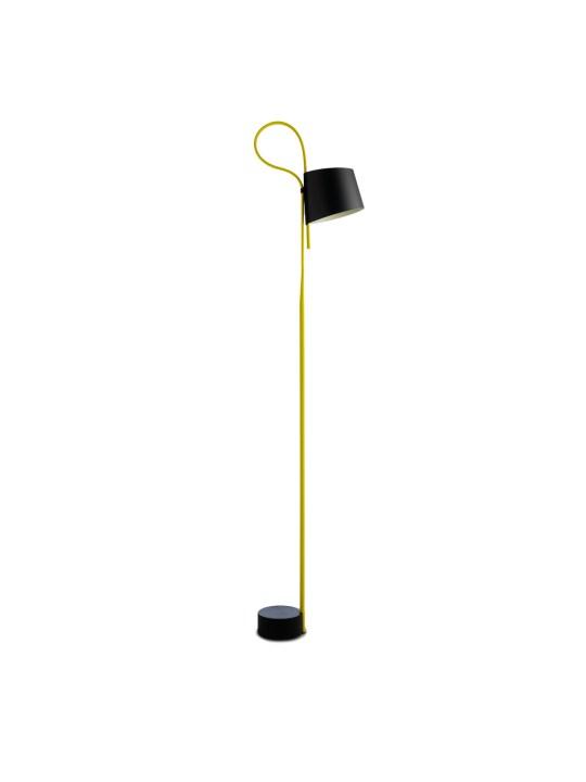 Rope Trick Stehleuchte in gelb