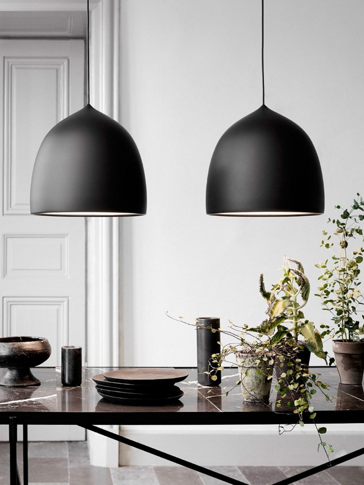 DesignOrt Lampen Blog: Trend: Schwarze Leuchten Suspense Lightyears