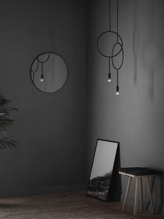 Hängelampe Circle Northern Lighting Designort