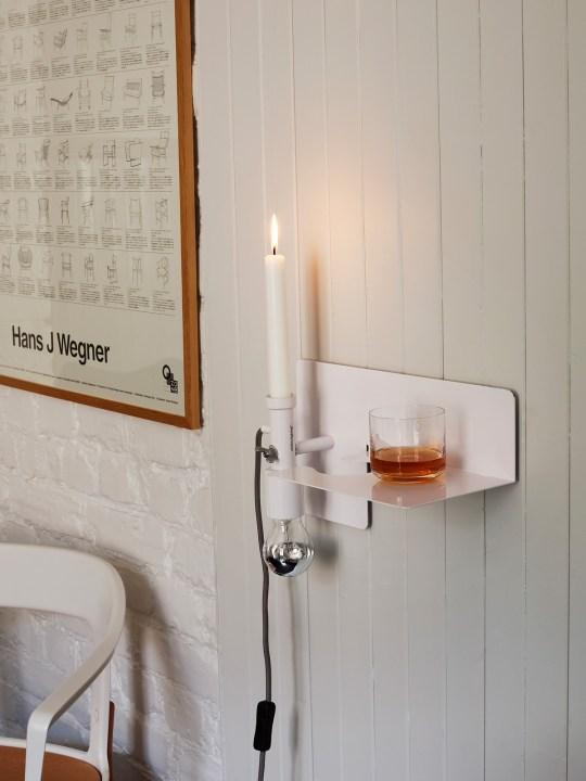 Sunday Wandlampe als Kerzenständer Onlineshop Designort