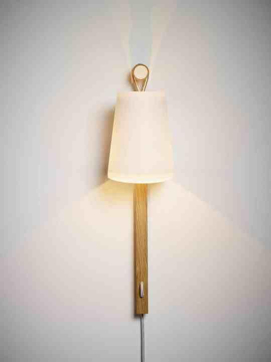 ausgefallene Wandlampe Fläks von Domus Licht Flaeks