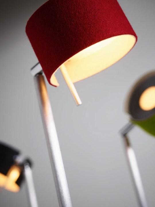 Lampenschirme Stehleuchten Kai und Carla Domus
