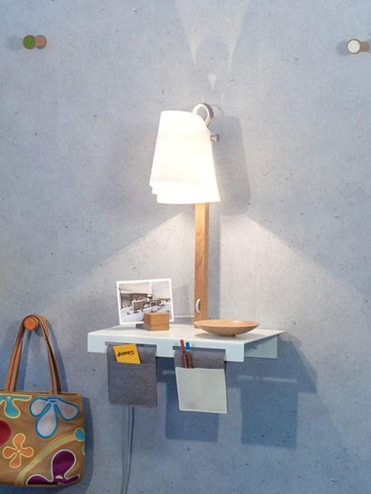 Wandlampe mit Regal Domus Licht