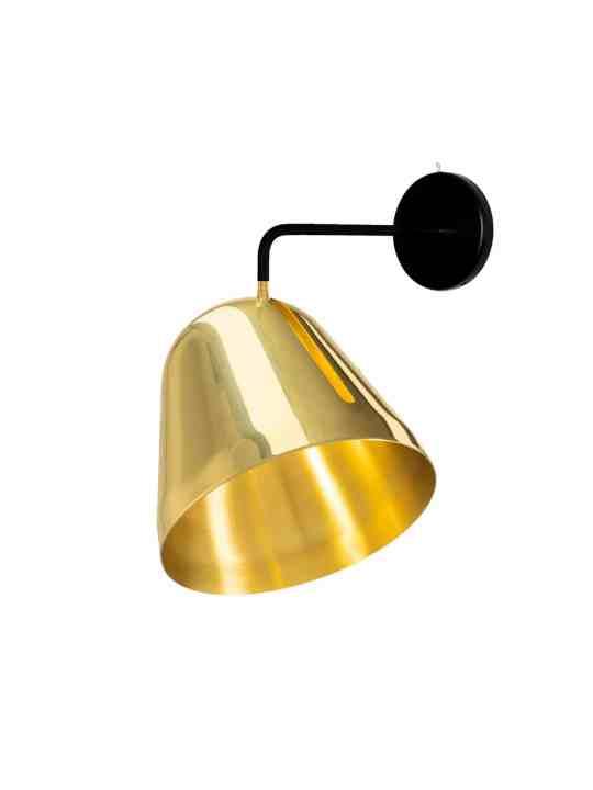 Wandleuchte Tilt Brass