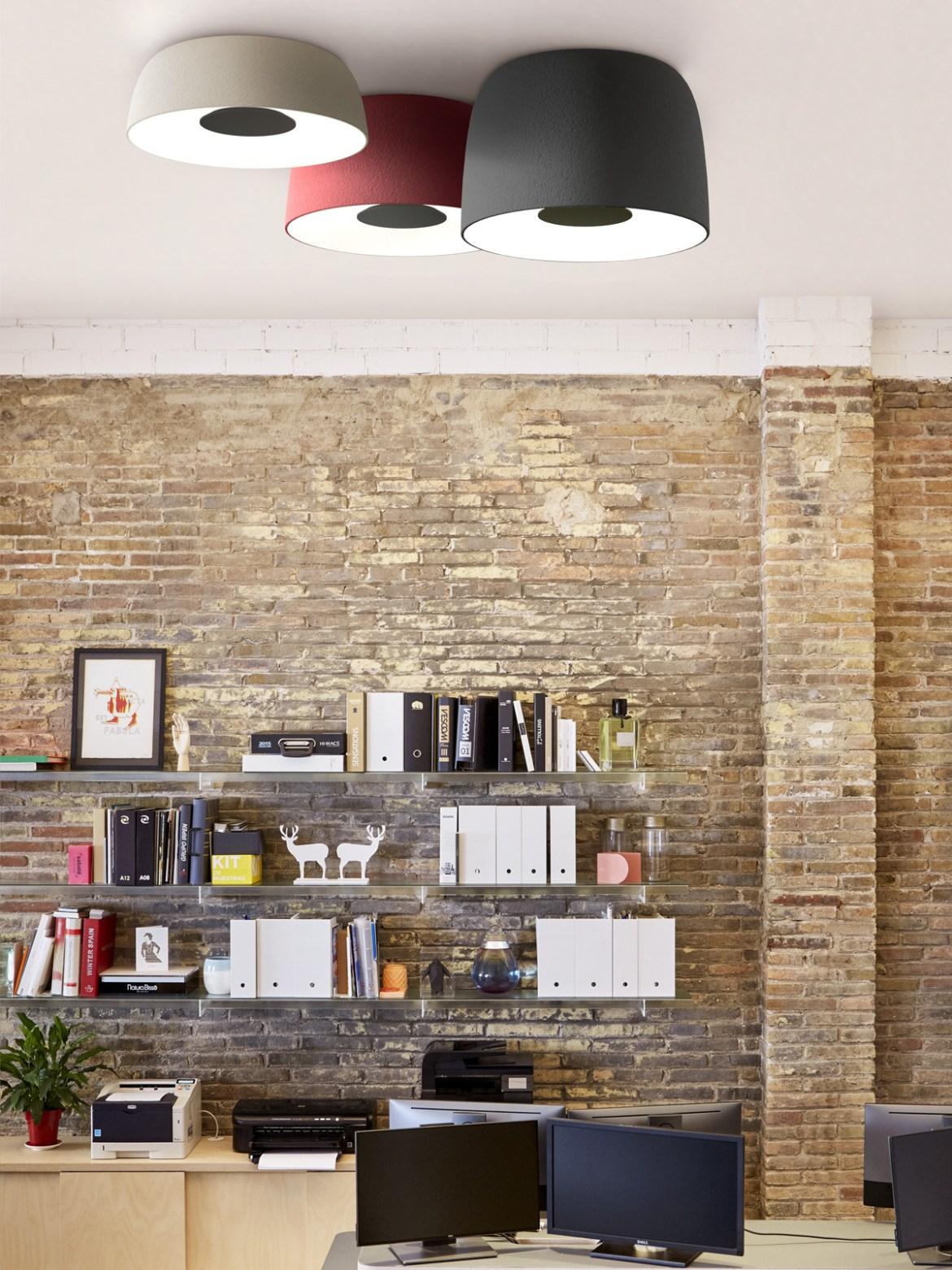 DesignOrt Blog: Trommelförmige Designerleuchten LED Deckenlampen von Marset Djembé