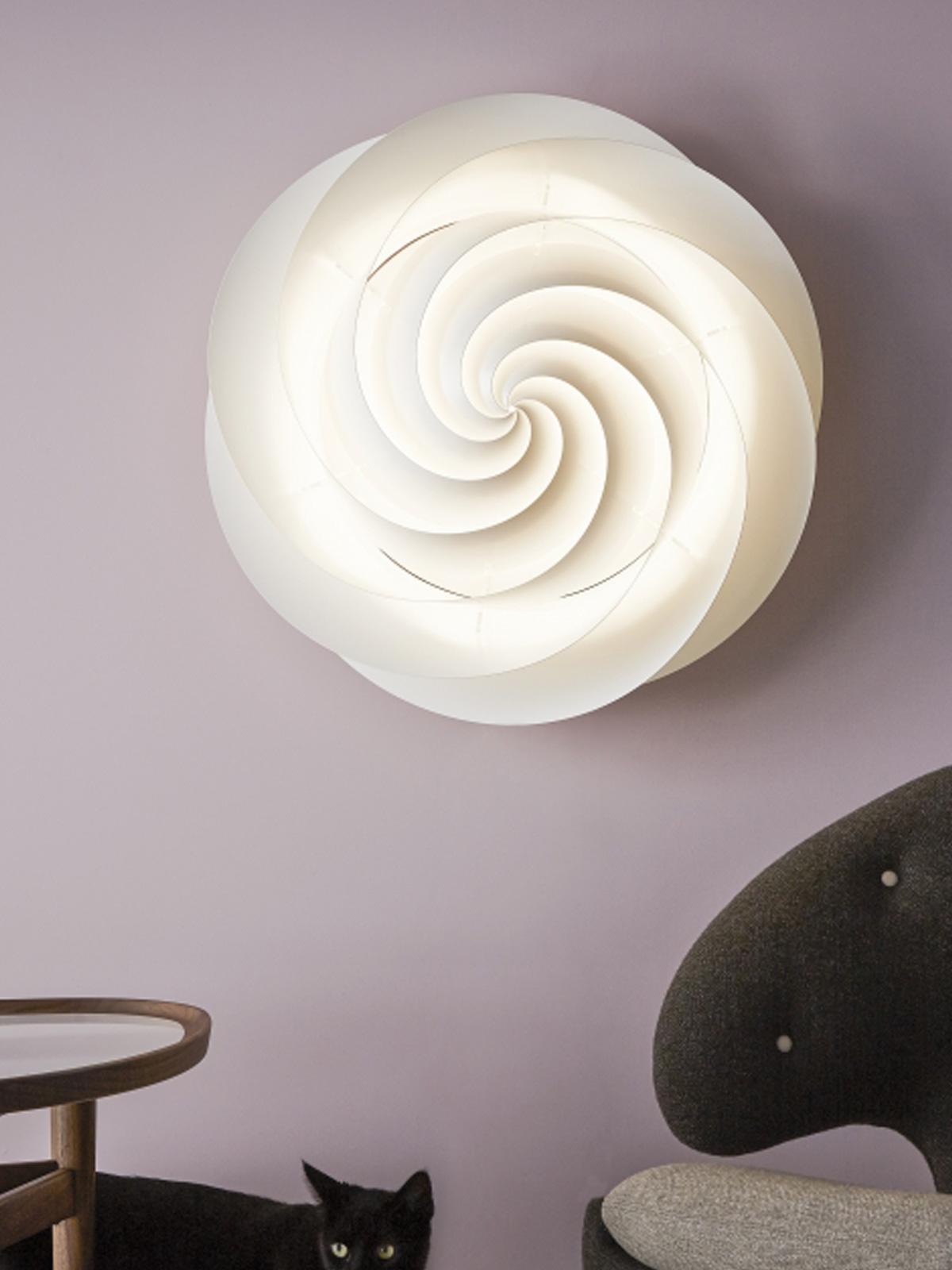 Le Flur Decke swirl wand und decke len leuchten designerleuchten